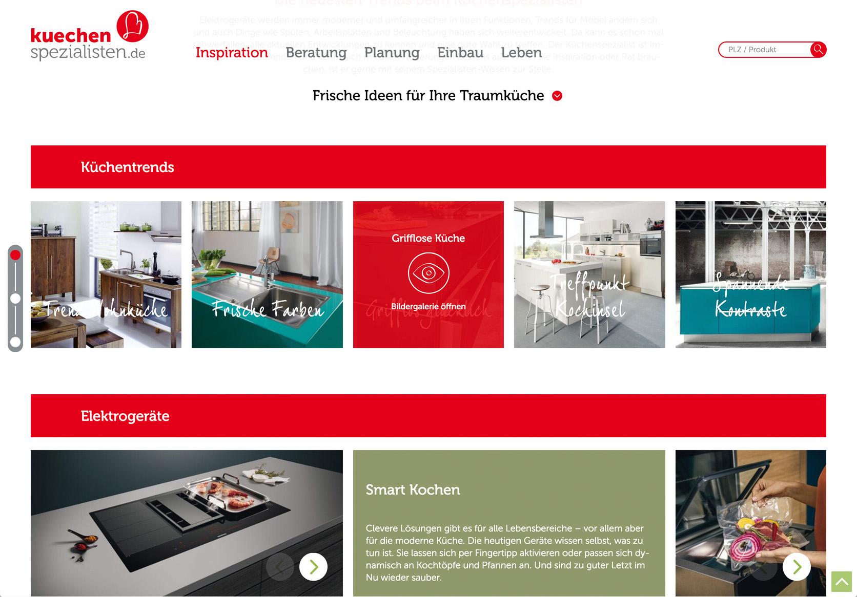 Website-Relaunch von kuechenspezialisten.de › burgdigital